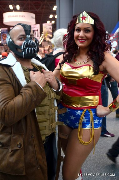 New York Comic Con cosplay - Bane and Wonder Woman