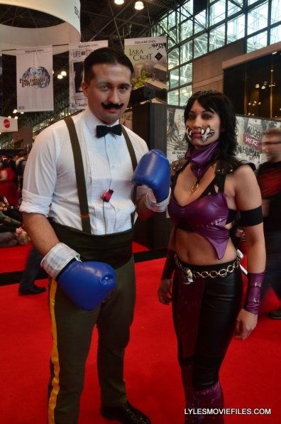 New York Comic Con cosplay - Dudley and Mileena