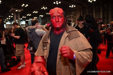 New York Comic Con cosplay - Hellboy