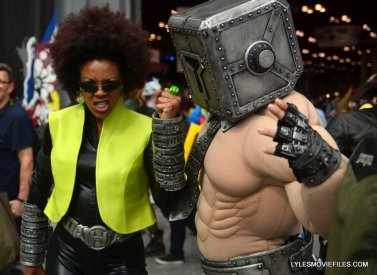 New York Comic Con cosplay - Helvetika Bold and The Mindset