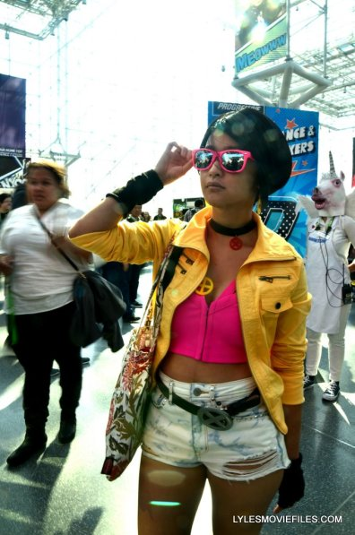 New York Comic Con cosplay - Jubilee