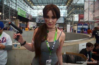 New York Comic Con cosplay - Lara Croft Megawatt Cosplay