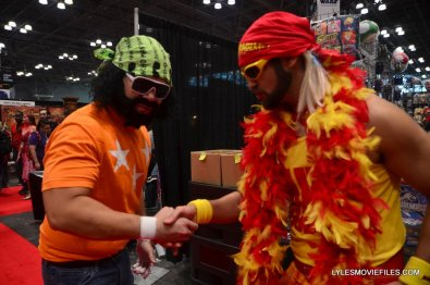 New York Comic Con cosplay - Macho Man and Hulk Hogan