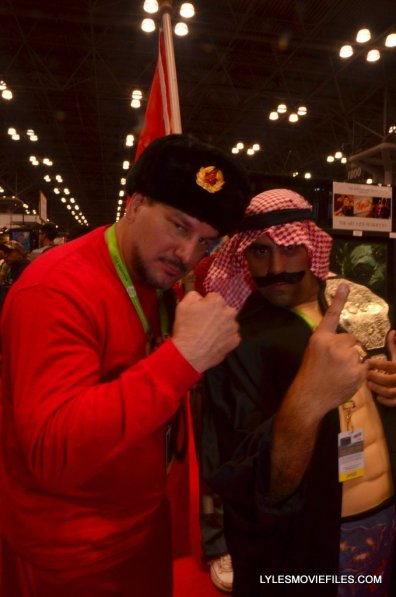 New York Comic Con cosplay - Nikolai Volkoff and Iron Sheik