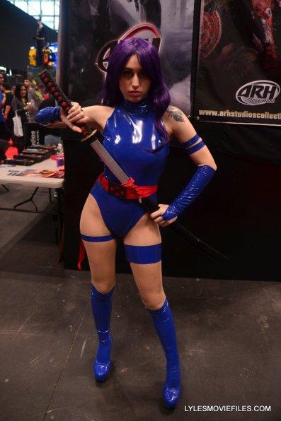 New York Comic Con cosplay - Psylocke