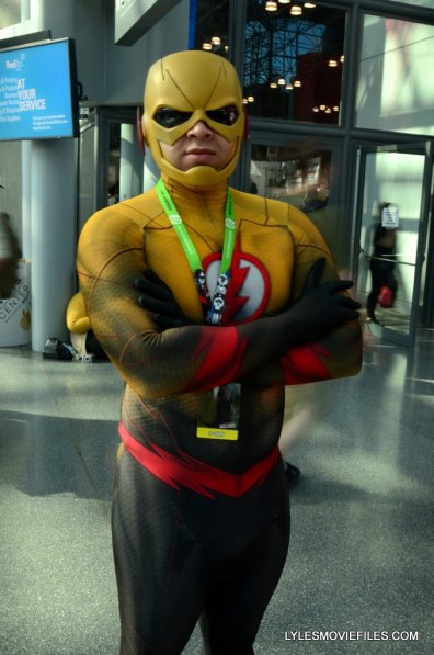 New York Comic Con cosplay - Reverse Flash