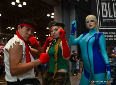 New York Comic Con cosplay - Ryu, Cammy and Samus