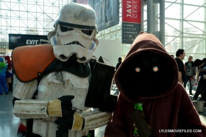 New York Comic Con cosplay - Sandtrooper and Jawa