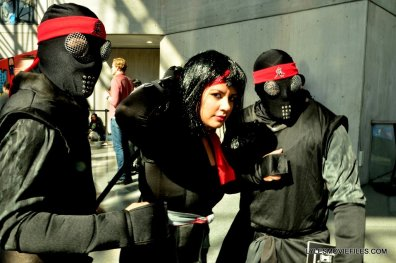 New York Comic Con cosplay - The Foot Ninja Turtles