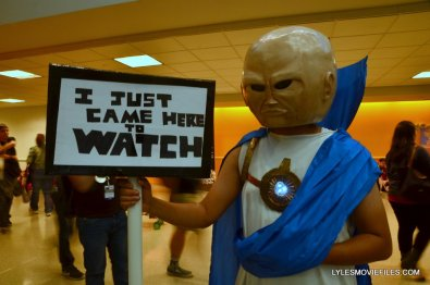 New York Comic Con cosplay - The Watcher