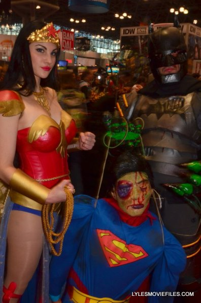 New York Comic Con cosplay - Wonder Woman and Batman