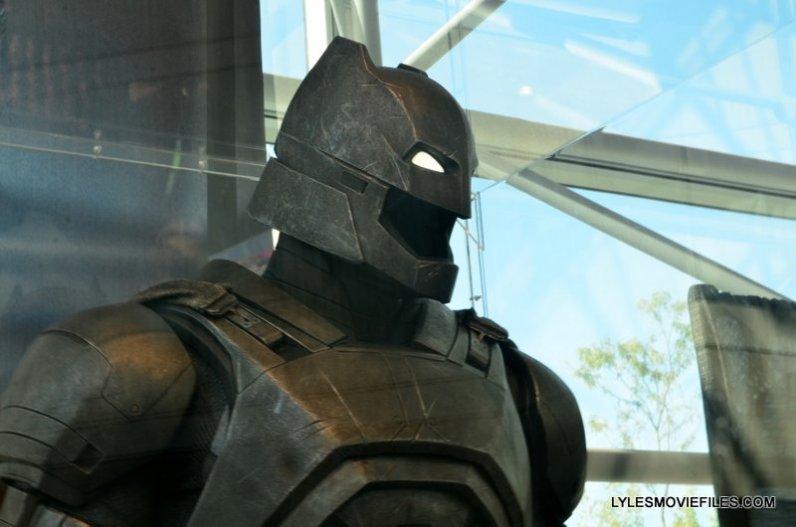 NYCC'15 -Batman suit from Batman v Superman closeup