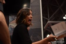 NYCC'15 - Chloe Bennet signing at Marvel panel 2