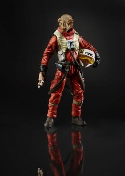 StarWars Black Series Force Awakens _X Wing Pilot Asty