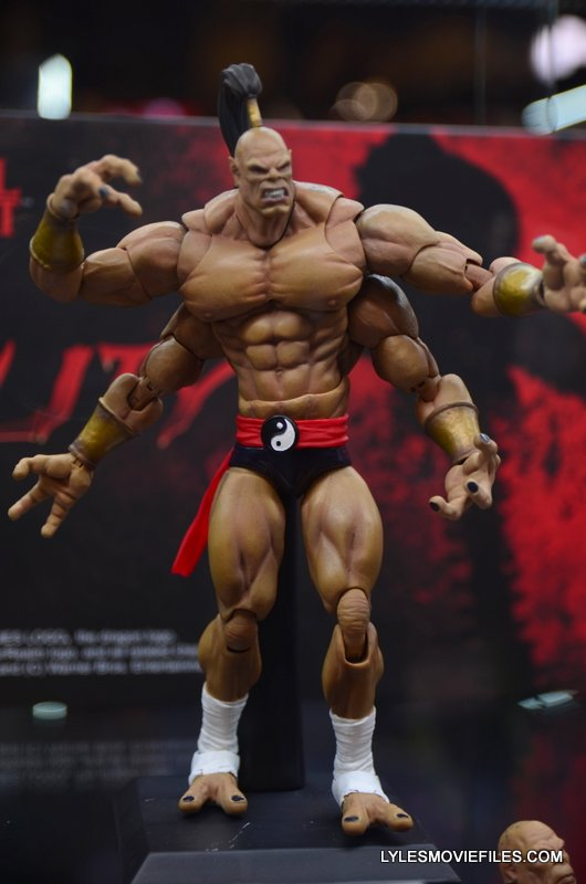 Storm Collectibles Mortal Kombat Goro Lyles Movie Files