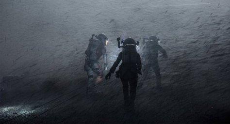 The Martian -through the storm