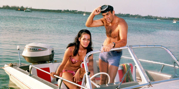 Thunderball - Paula and Bond