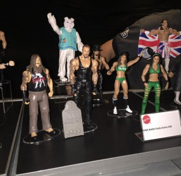 WWE Ringside Fest Mattel Battle packs