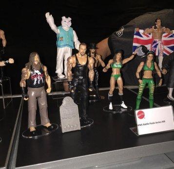 WWE Ringside Fest Mattel Battle packs
