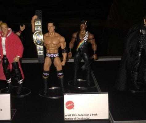 WWE Ringside Fest Mattel Nation of Domination two-pack