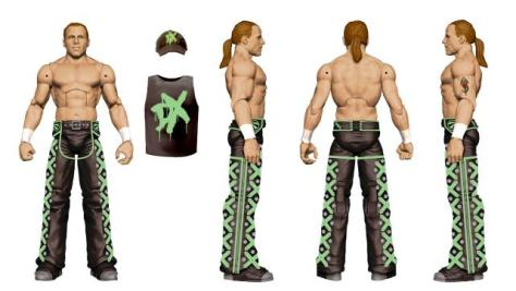 WWE Ringside Fest Mattel Shawn Michaels DX Walgreens