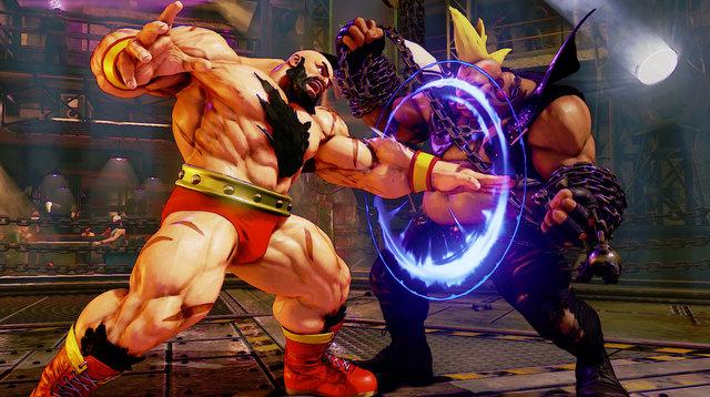 Zangief Street Fighter 5 -_medium_punch.