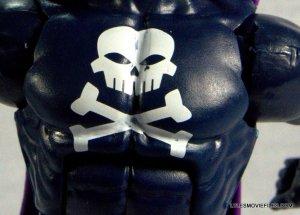 Marvel Legends Grim Reaper - chest close up