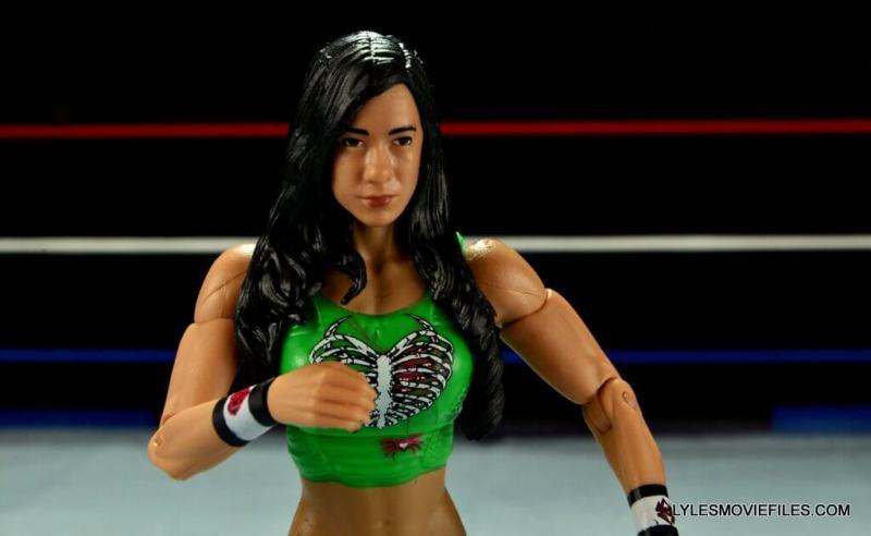 WWE Mattel Basic AJ Lee - close up2