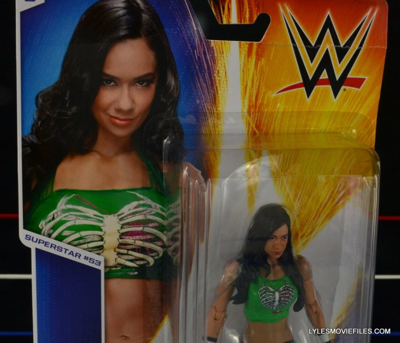 WWE Mattel Basic AJ Lee - package close up2