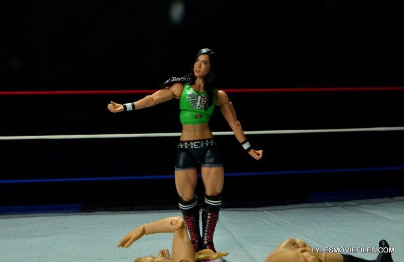 WWE Mattel Basic AJ Lee - skipping2