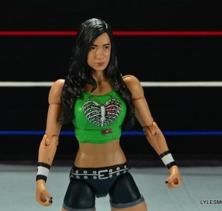 WWE Mattel Basic AJ Lee - wide shot2