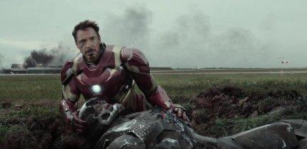 """Captain America Civil War"" - Rhodey and Stark"