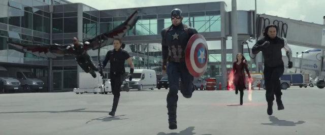 """""""Captain America Civil War"""" - The Avengers"""