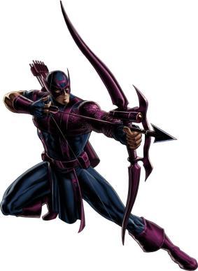 Hawkeye comic book likeness