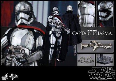 Hot Toys Force Awakens Capt Phasma - collage