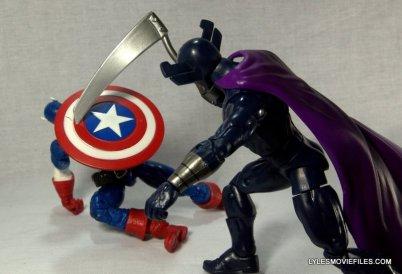 Marvel Legends Grim Reaper - fighting Captain America