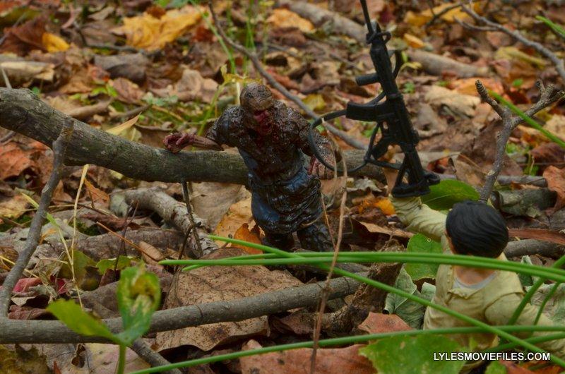McFarlane Toys Walking Dead Mud Walker - coming after Glenn