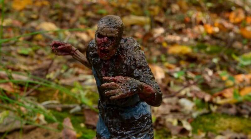 McFarlane Toys Walking Dead Mud Walker - wide shot