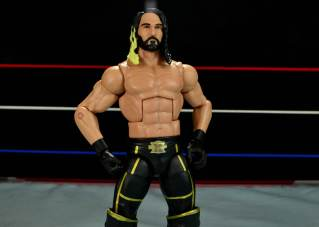 Seth Rollins Mattel exclusive -hands on hips