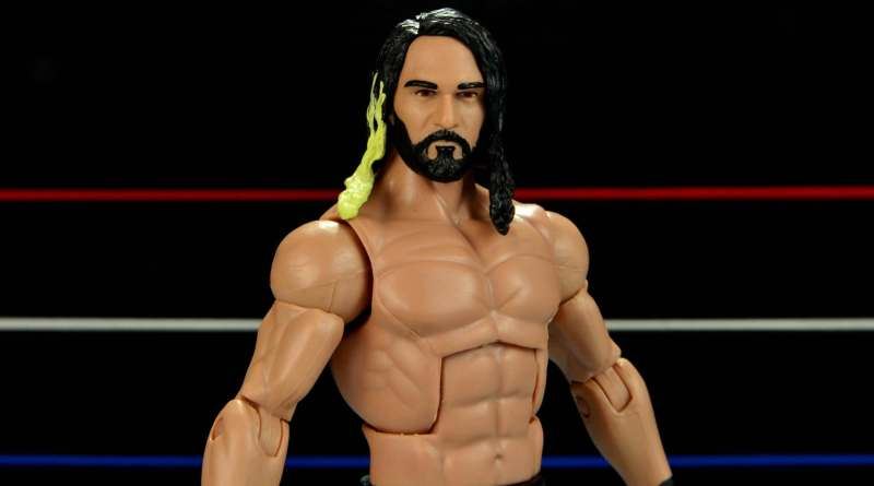 Seth Rollins Mattel exclusive -slanted forward