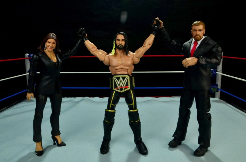 WWE Basic Stephanie McMahon - The Authority with Seth Rollins