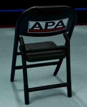 WWE Mattel APA -APA chair