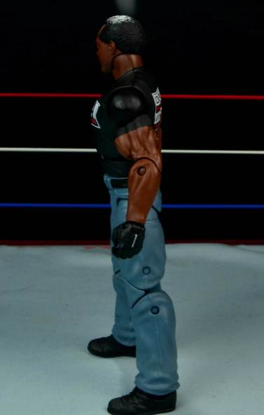 WWE Mattel APA -Farooq left side