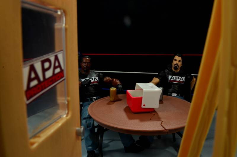 WWE Mattel APA -opening up APA office