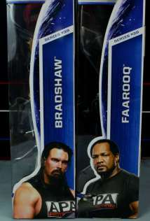 WWE Mattel APA -side packages