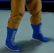 WWE Mattel Earthquake -boot closeup