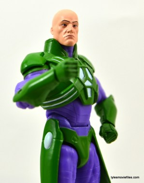 DC Collectibles Icons Lex Luthor review -looking up
