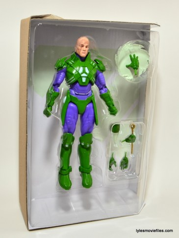 DC Collectibles Icons Lex Luthor review -plastic tray
