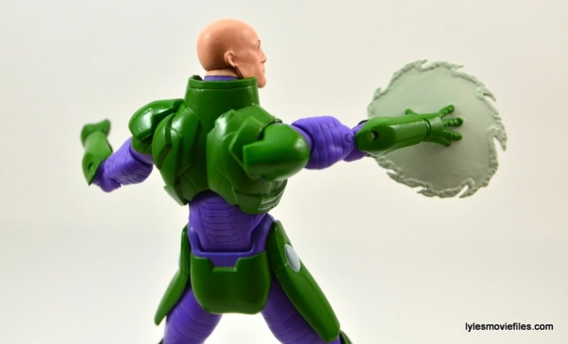 DC Collectibles Icons Lex Luthor review -saw blade back