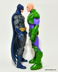 DC Collectibles Icons Lex Luthor review -scale with Batman